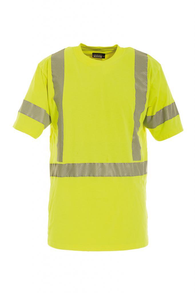 Vlamvertragend hi-vis t-shirt korte mouwen