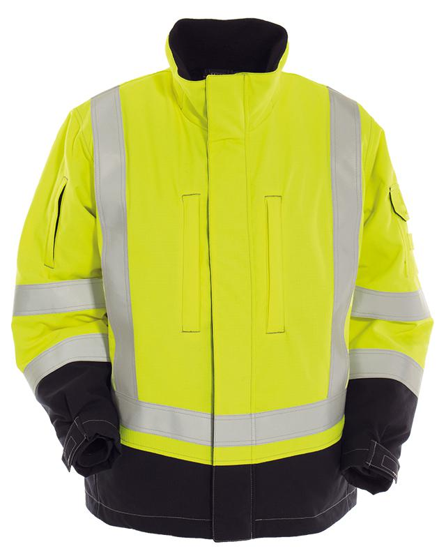 Vlamvertragend hi-vis dames winterjack