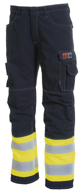 Vlamvertragende hi-vis doorwerkbroek windbreaker
