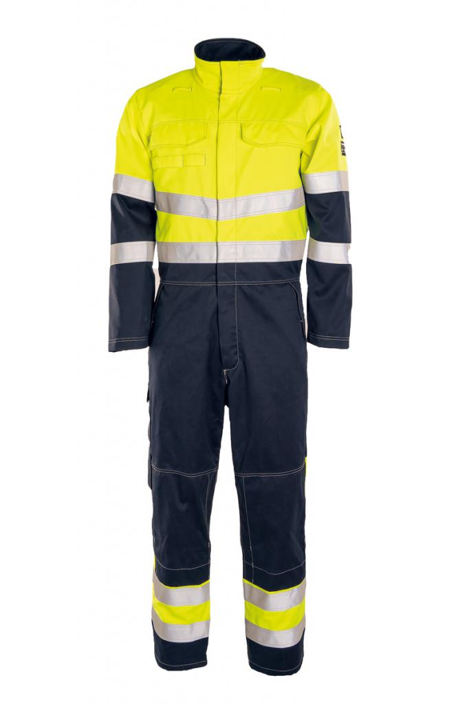 HI-VIS OVERALL CANTEX WELD STRETCH